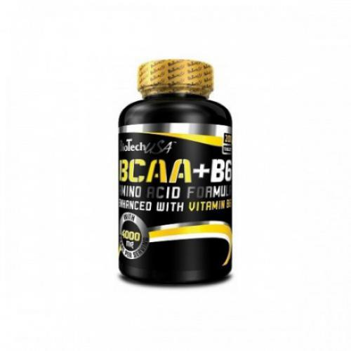 BCAA B6 (200 tablettes) BIOTECH USA