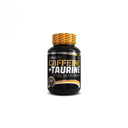Caffeine and Taurine (60 caps) BIOTECH USA