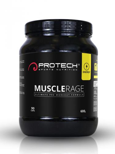 Muscle rage (600 g) PROTECH