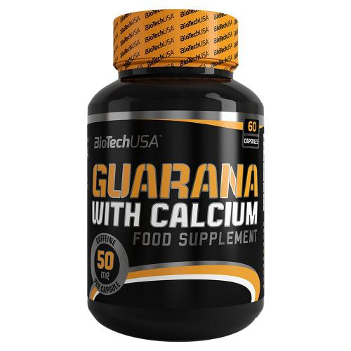 Guarana With Calcium (60 caps) BIOTECHUSA