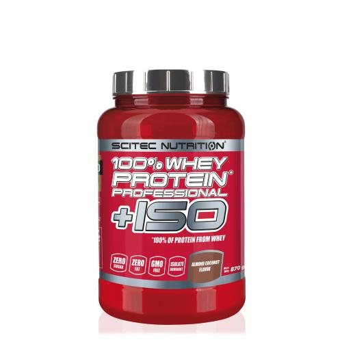 Scitec Nutritiion 100% Whey Protein Proffesional + ISO - 870g