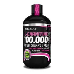 L-Carnitine 100.000 (500 ml) BIOTECH USA